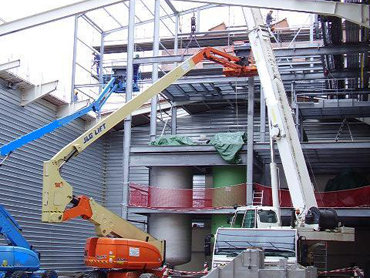 Structure avec planchers intermédiaires enclavée 001